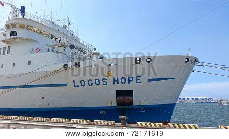 The German Ship Logos Hope Visits Kaohsiung