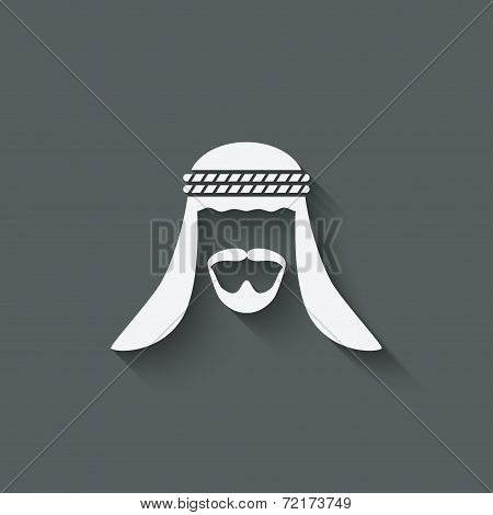 Arabic man avatar