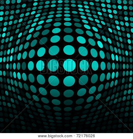 Abstract Blue - Green Technology Background