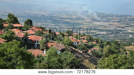 View From Old Platamonas, Platamon Greece