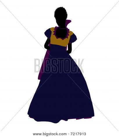 Snow White Silhouette Illustration