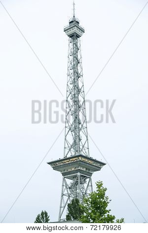 Vintage Shoot Of The Funkturm, Berlin Germany