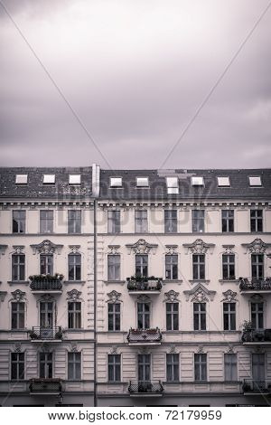 Vintage Shoot Of Nice Houses In Berlin Kreuzberg