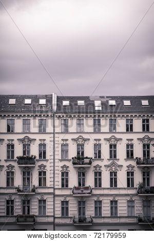Vintage Shoot Of Nice Houses In Berlin Kreuzberg