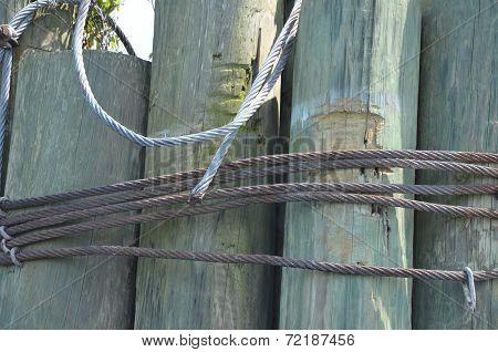 Worn Pylons
