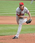 Cincinnati Reds' pitcher Bronson Arroyo