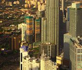pic of klcc  - View of the Kuala Lumpur City Centre - JPG