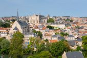 stock photo of poitiers  - Cityscape of Poitiers at a summer day - JPG