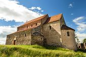 picture of sibiu  - Saxon Church in Cisnadioara Sibiu - JPG