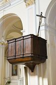 pic of pilaster  - Mother Church of Oriolo - JPG
