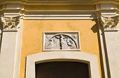 picture of pilaster  - Mother Church of Oriolo - JPG
