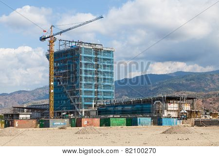 New consctuction building in Dili