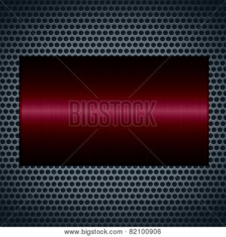 metallic texture with holes metal plate background