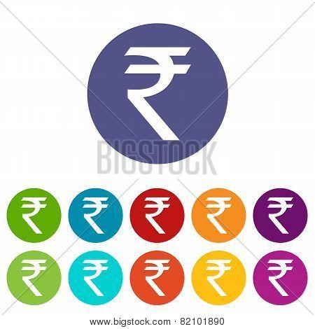 Rupee flat icon