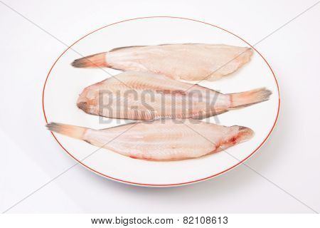 Raw Sole Fish
