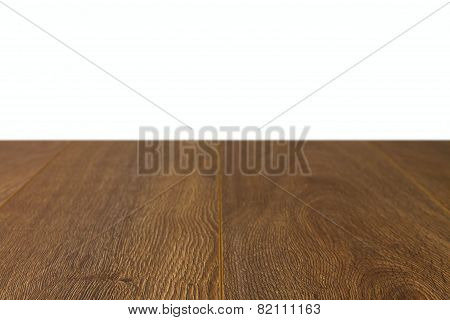 Perspective Of Wooden Boards