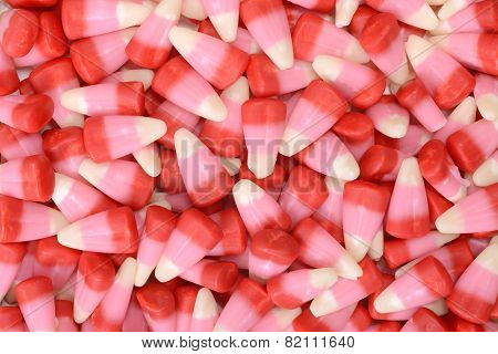 valentines candy corn background