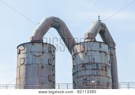Old Industrial Plant, Blast Furnace