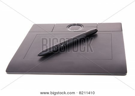 tablet with pen