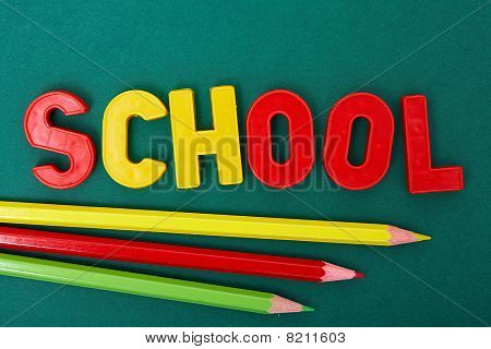 Pencils And Letters
