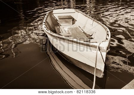 Old style boat.