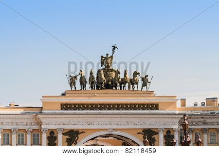 general staff building, Saint-Petersburg