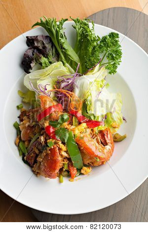 Thai Jumbo Shrimp Salad