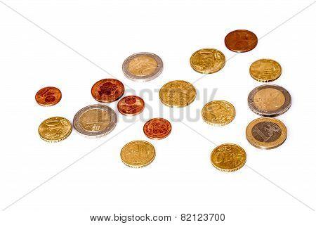 Euros coins