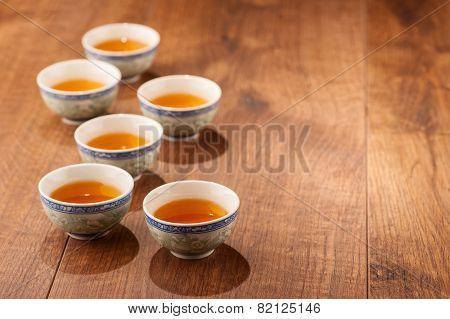 Cup of tea still life
