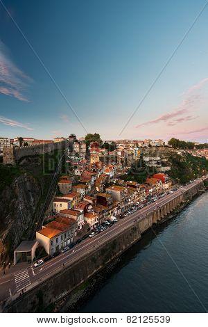 Part of Porto city in Portugal