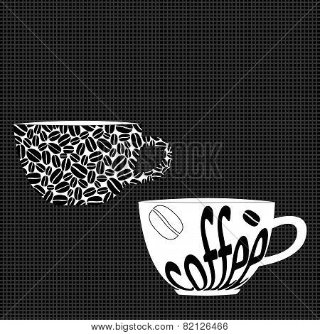 Stylised Coffee Cups