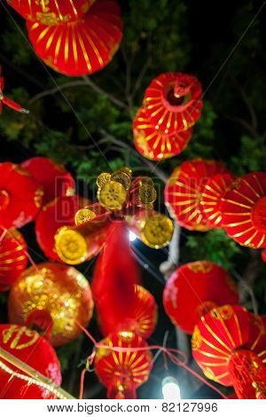 Red Lanterns And Lucky Knots