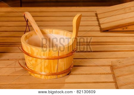Sauna Interior And Accessories