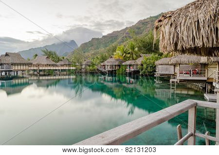 Overwater Bungalows, French Polynesia