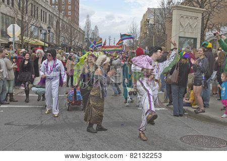 Motley Mardi Gras Parade