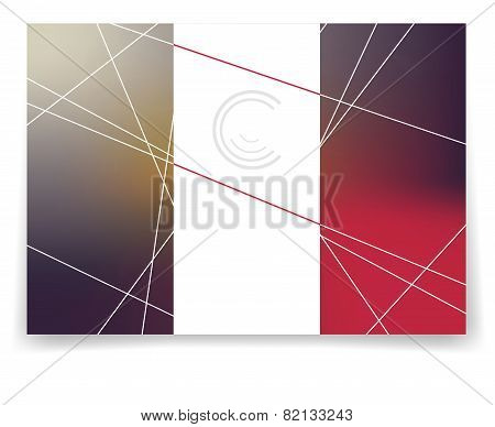 Vector Multicolor Brochure Template.