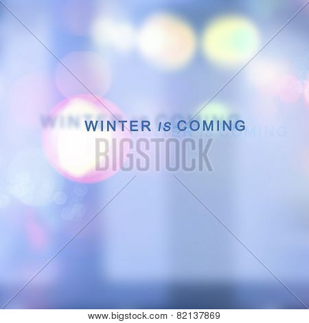 Winter Is Coming background