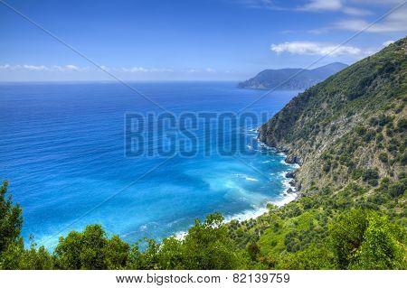 Italian Riviera In Cinque Terre National Park
