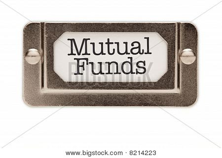 Mutual Funds File Drawer Label