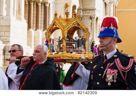 Saint Devota Celebrations in Monaco - 2015
