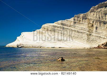 White Cliff Of Scala Dei Turchi
