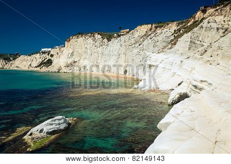White Cliffs Of Smooth Pug At Scala Dei Turchi