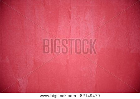 Red Concrete Vignetted Background
