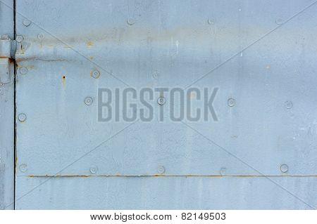 Metal Door Detail