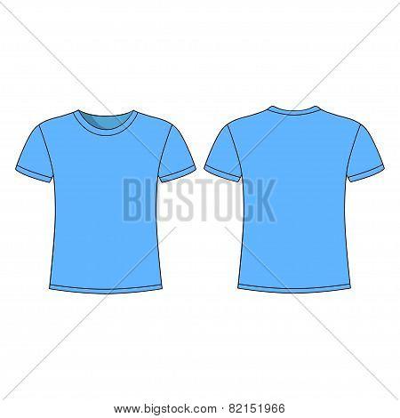 men's short sleeve t-shirt design templates