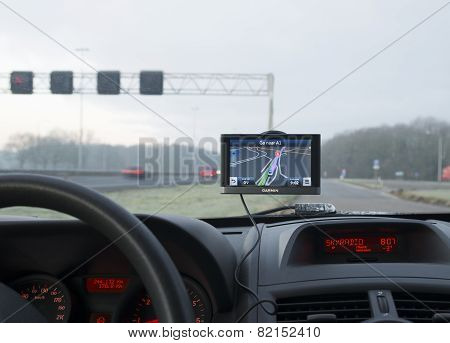 Gps Navigation In Car