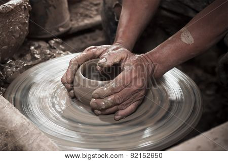 Making Clay Pot