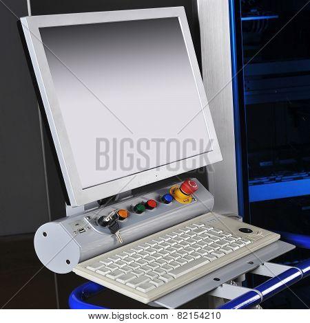 Control Panel  Modern Machine