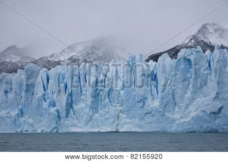 Ice on the glacier Perito Moreno, Argentina