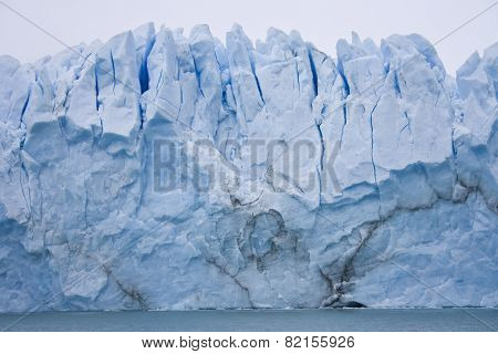 Ice on the glacier